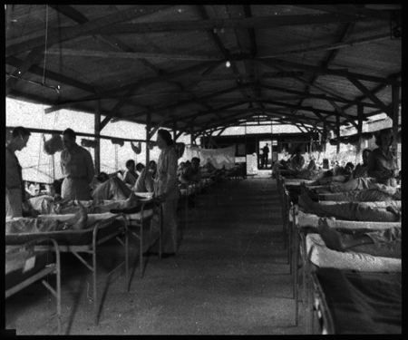 Interior view of a typical medical ward