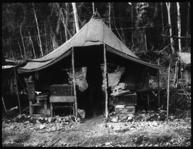 Scene from U.S. Army, 27th General Hospital (single tent)